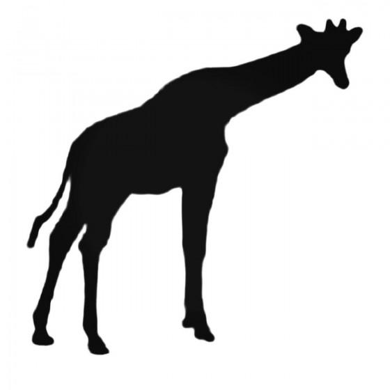 Cute Giraffe Silhouette...