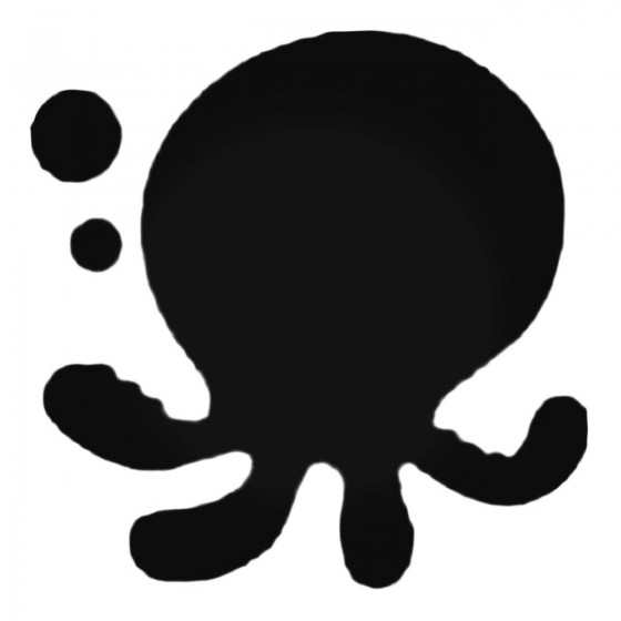Cute Octopus With Bubbles...