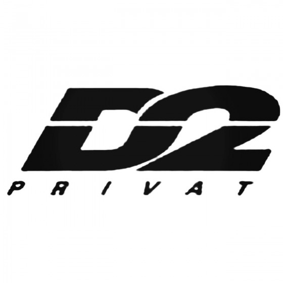 D2 Privat Decal Sticker