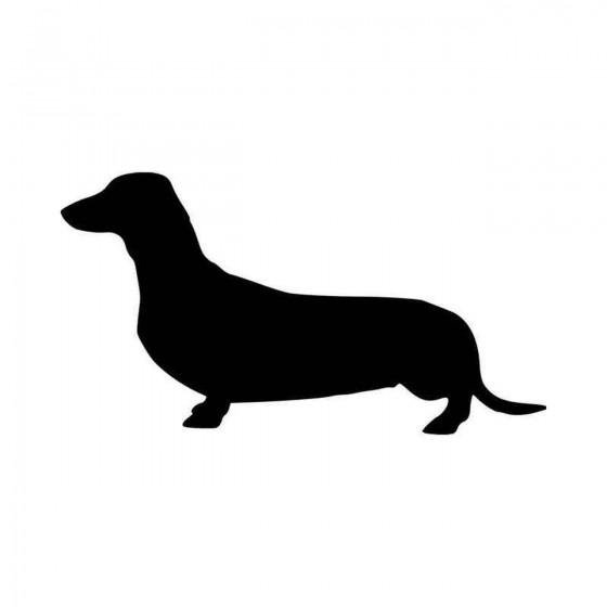 Dachshund Dog Vinyl Decal...