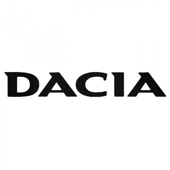 Dacia Decal Sticker