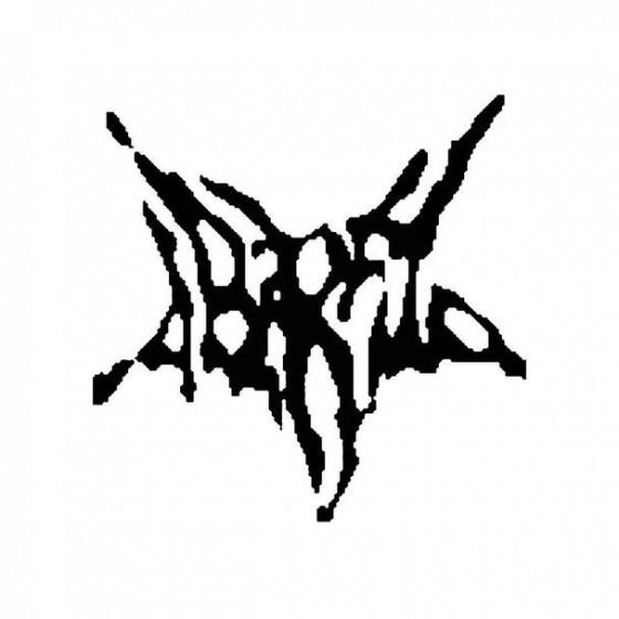 Ab Irato Band Logo Vinyl Decal
