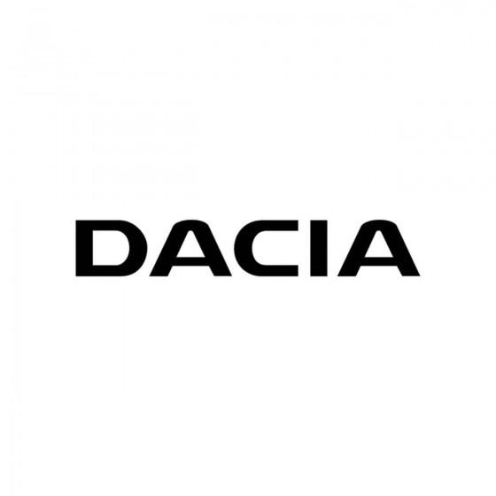 Dacia Logo Plein Vinyl...