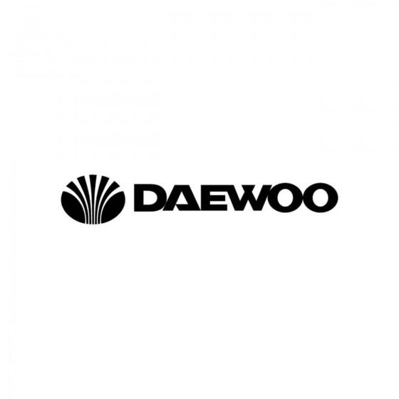 Daewoo Logo Ecriture Vinyl...