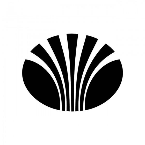 Daewoo Logo Plein Vinyl...