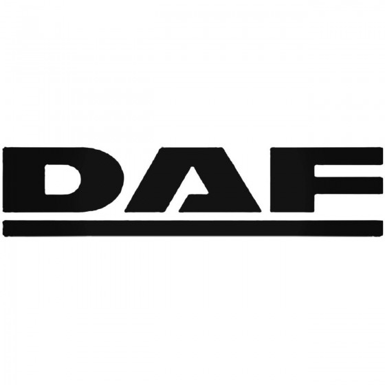 Daf Decal Sticker