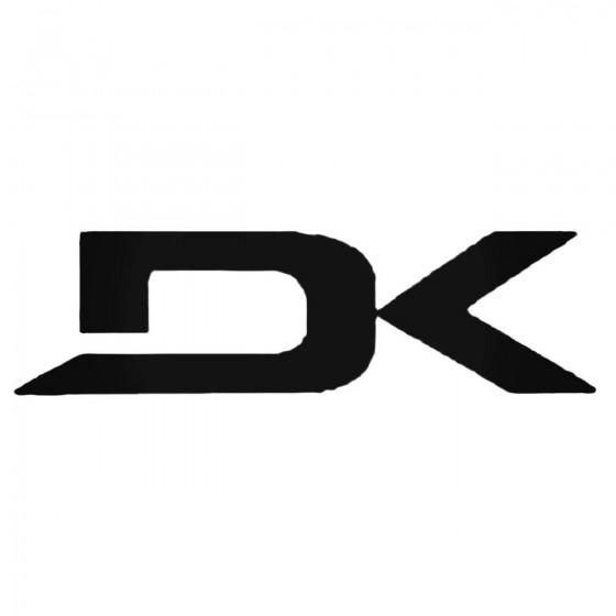 Dakine Dk Decal Sticker