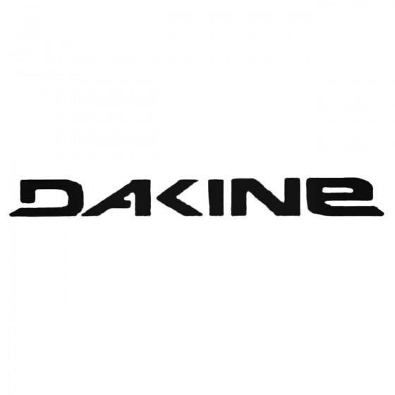 Dakine Text Decal Sticker