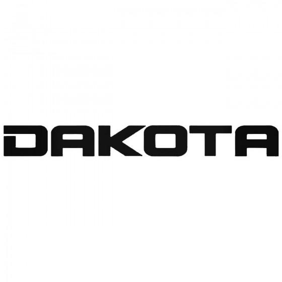 Dakota Graphic Decal Sticker