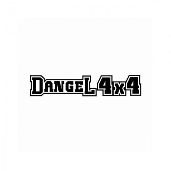 Dangel 4x4 Ecriture Contour...