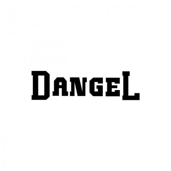 Dangel Ecriture Vinyl Decal...