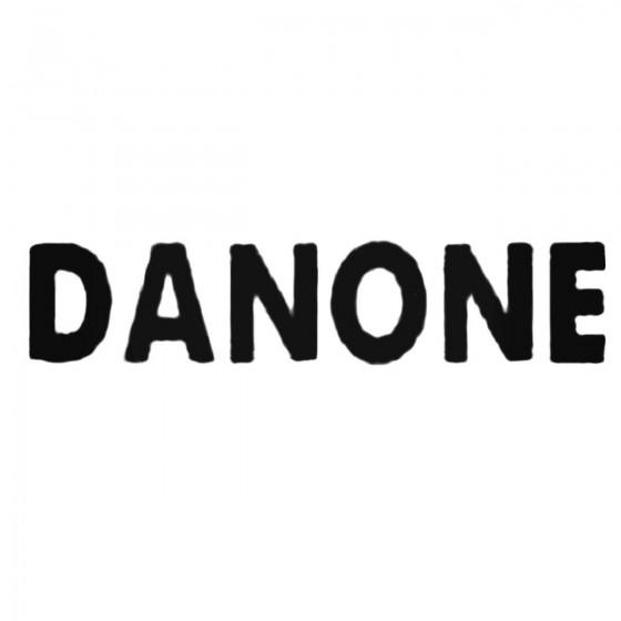 Danone Decal Sticker