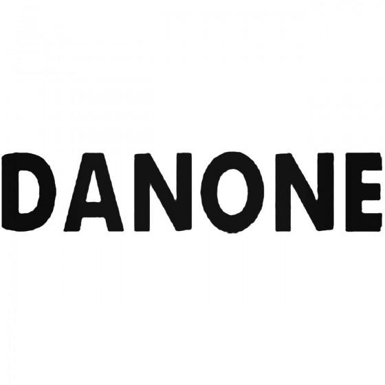 Danone Vinyl Decal