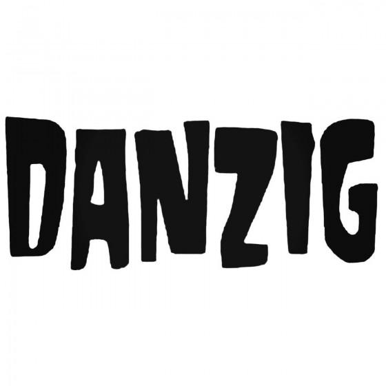 Danzig Decal Sticker
