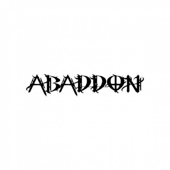Abaddon 20 Band Logo Vinyl...