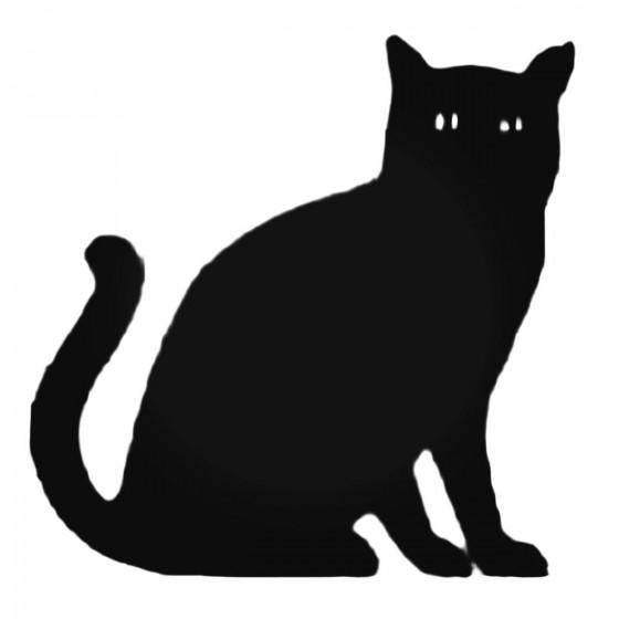 Dapper Cat Decal Sticker