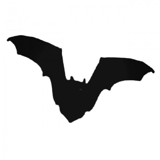 Dark Flying Bat Decal Sticker