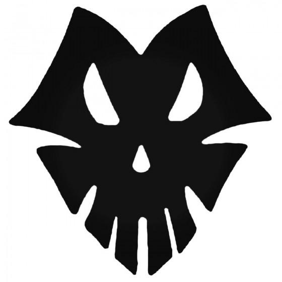 Dark Skull Decal Sticker