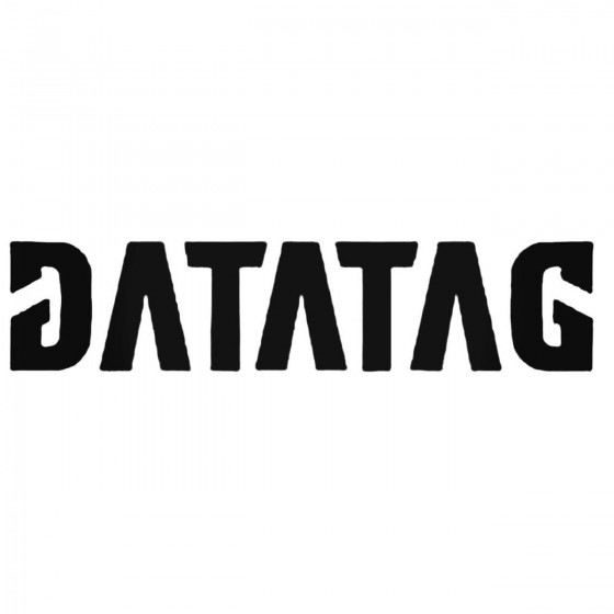 Datatag Decal Sticker