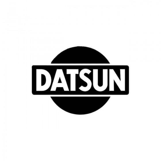 Datsun Vinyl Decal Sticker