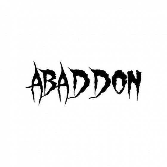 Abaddon 4 Band Logo Vinyl...