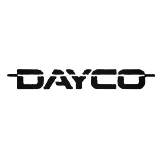Dayco Decal Sticker
