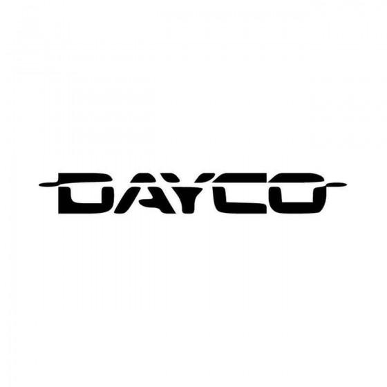 Dayco Vinyl Decal Sticker