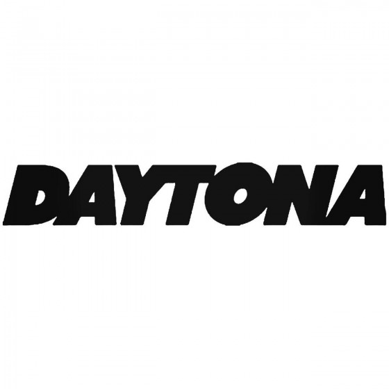Daytona Sticker