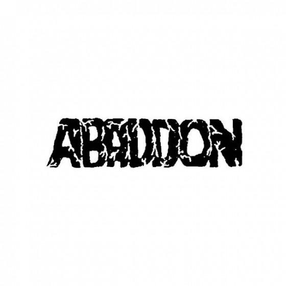 Abaddon 7 Band Logo Vinyl...