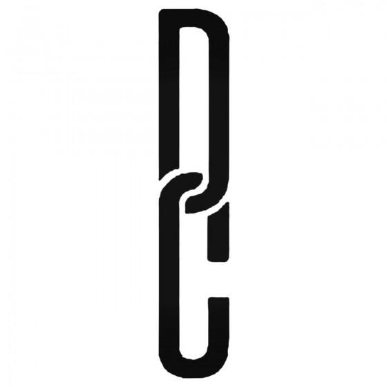Dc Chain Decal Sticker