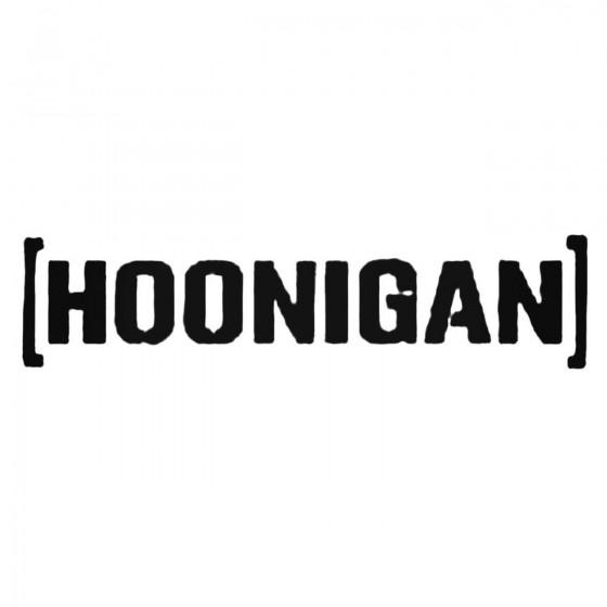 Dc Ken Block Hoonigan Decal...