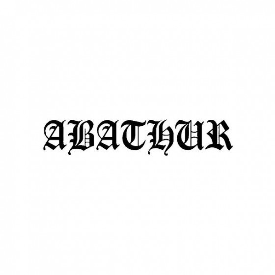 Abathur Band Logo Vinyl Decal