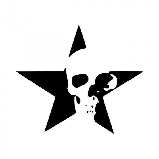 Death Skull Star Vinyl...