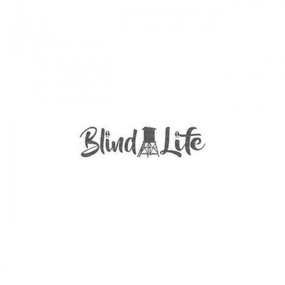 Deer Stand Blind Life Decal...