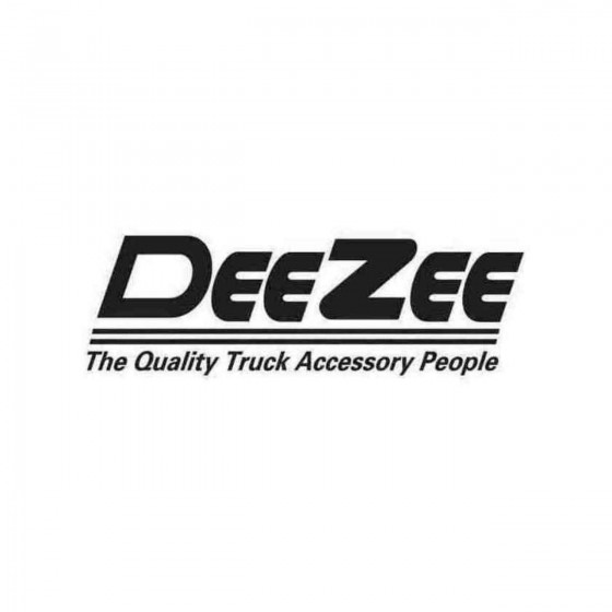 Deezee Graphic Decal Sticker