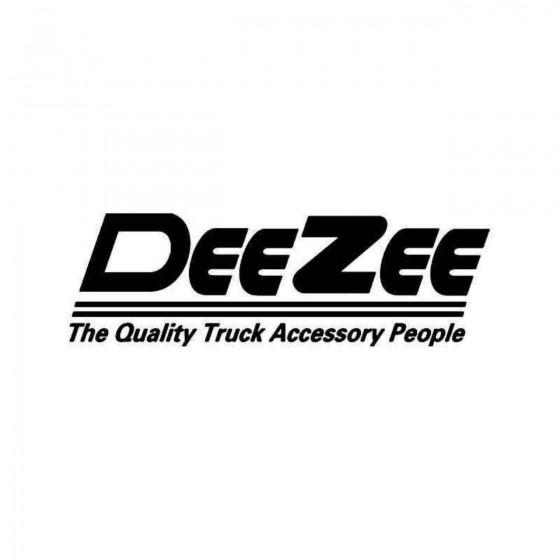 Deezee Sticker