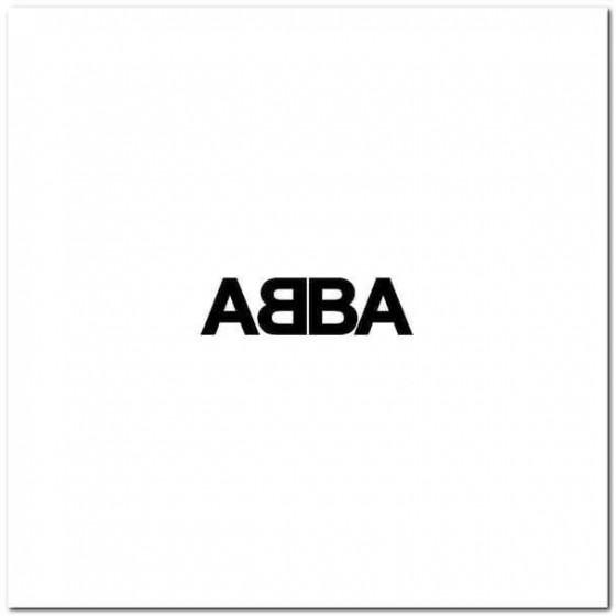 Abba S Band Decal Sticker