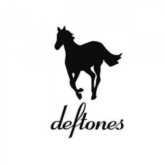 Deftones Pony Decal Sticker