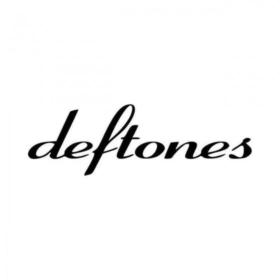 Deftones Vinyl Decal Sticker