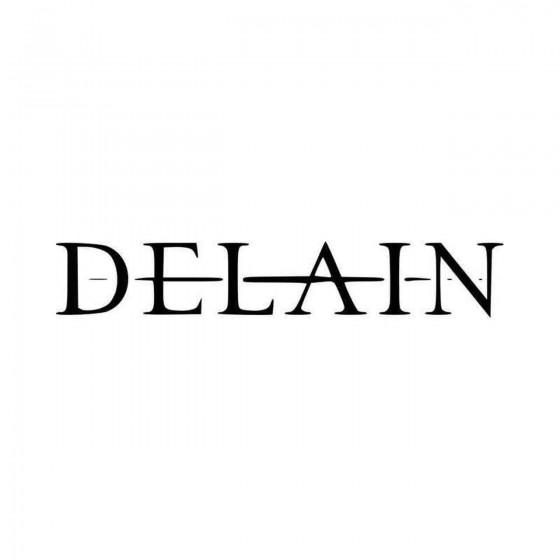 Delain Band Logo Vinyl...