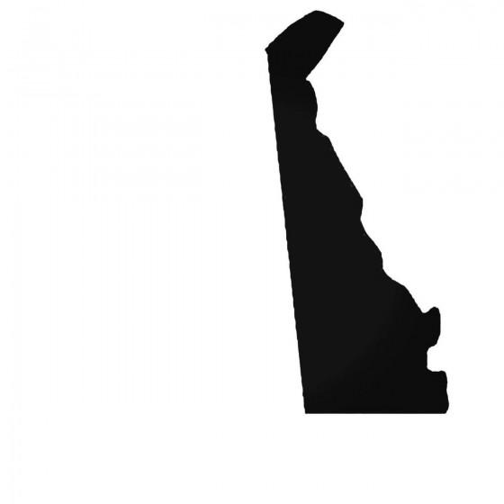 Delaware De State Decal...