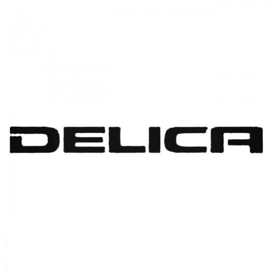 Delica Decal Sticker