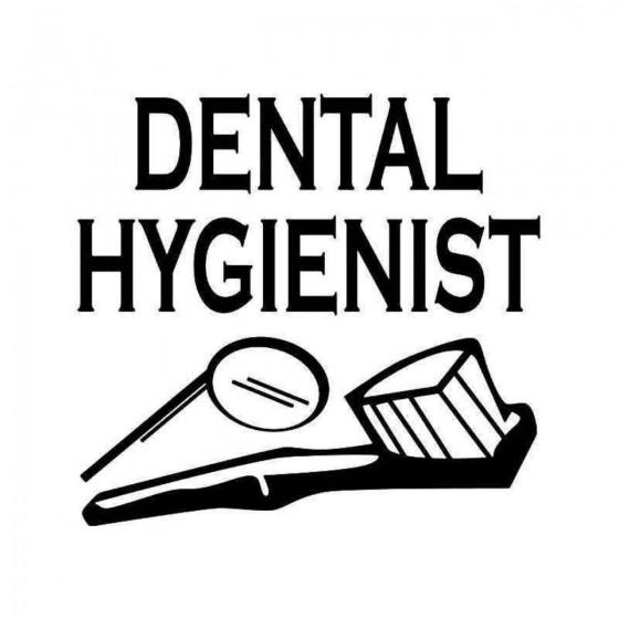 Dental Hygienist Sticker