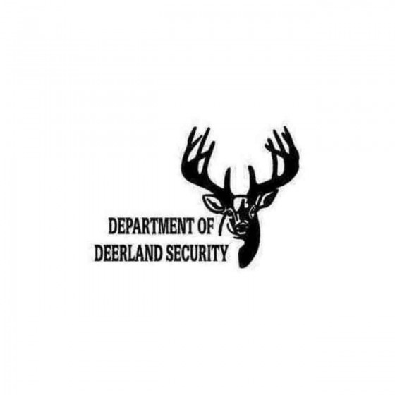 Department Of Deerland...