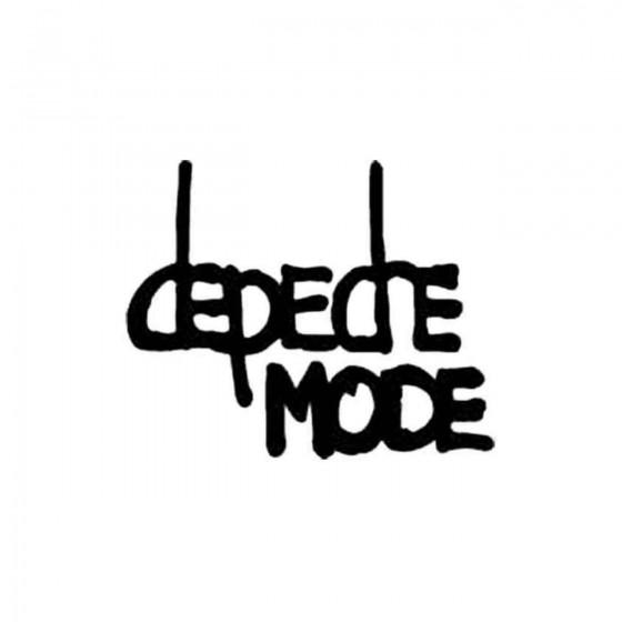 Depeche Mode Vinyl Decal