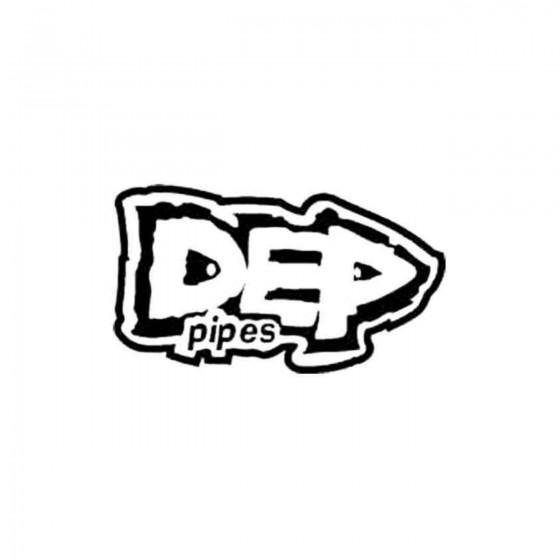 Dep Pipes Vinyl Decal