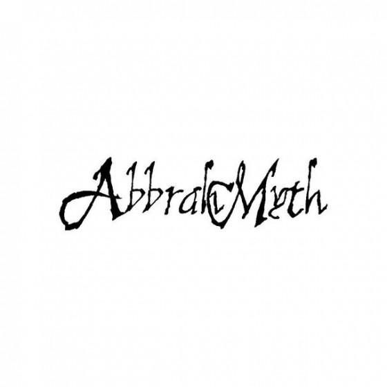 Abbrahmyth Band Logo Vinyl...