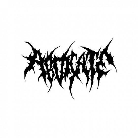 Abdicate 2 Band Logo Vinyl...