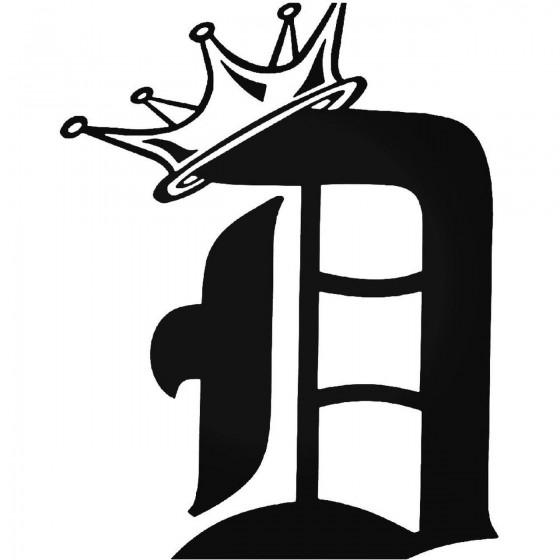 Detroit King Sticker