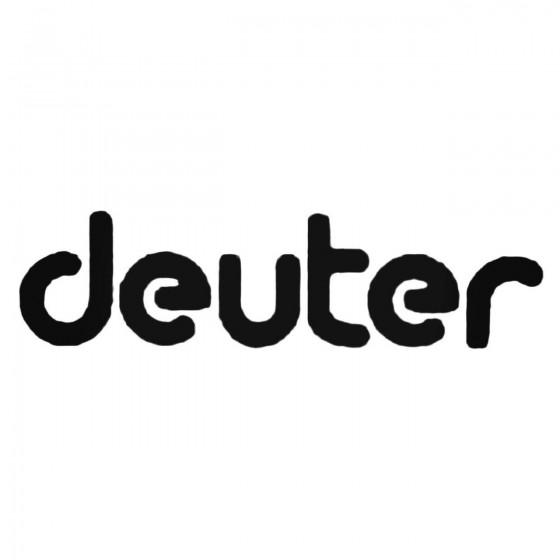 Deuter Decal Sticker